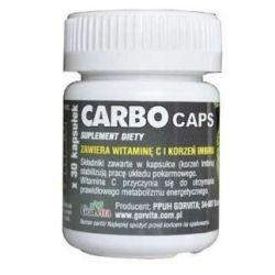 Gorvita CarboCaps 20 kap węgiel roślinny