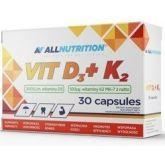 Allnutrition Witamina D3 2000 K2 30 k odporność