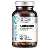 Myvita Silver Karczoch 400 mg 120 K wątroba