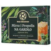 Herbal Monasterium Mirra i Propolis na gardło 12 p