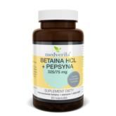 Medverita Betaina HCL + Pepsyna 325/75 mg