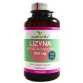Medverita Lizyna w postaci wolnej 500 mg 100 k