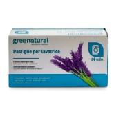 Greenatural Tabletki do prania lawenda 24 szt
