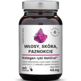 Aura Herbals Włosy Skóra Paznokcie 60 k kolagen