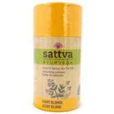 Sattva Ayurveda Farba Do Włosów Jasny Blond 150G