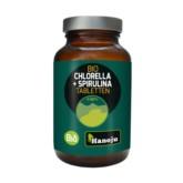 Hanoju Spirulina Bio Chlorella Bio 400 mg 300 T