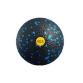 Piłka do masażu czarno-niebieska 8 4Fizjo