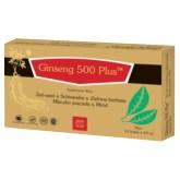 Ginseng Poland Ginseng 500 Plus Płyn 10 X 10 ml