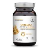 Aura Herbals Omega Witamina D3 800 IU dzieci 60