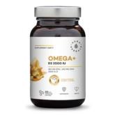 Aura Herbals Omega Witamina D3 2000 IUi 60
