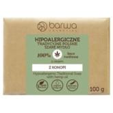 Barwa Mydło hipoalergiczne z olejem z konopnym 100