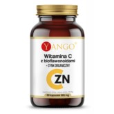 Yango Witamina C z bioflawonoidami i cynk 90 k