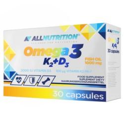 Allnutrition Omega 3 K2 D3 30 kap