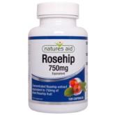 Natures Aid Rosehip 750 mg 120 kap dzika róża