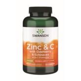 Swanson Immune Support Cynk C/Elda/ech 60t