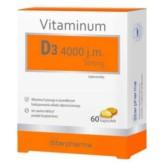 Starpharma Vitaminum D3 4000 j.m. Strong 60 k