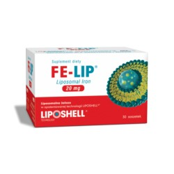 Ascolip Liposomalne Żelazo 20 mg FE-LIP 30 sasz