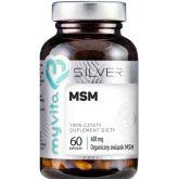MYVITA SILVER MSM 100% 60 KAPS.