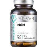 MYVITA SILVER MSM 100% 120 KAPS.