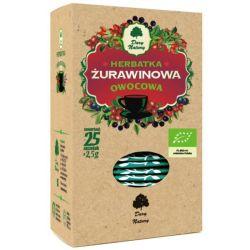 DARY NATURY HERBATA ŻURAWINOWA EKO 25X2,5G