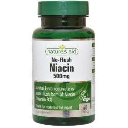 NATURES AID NIACYNA B3 500MG 60 TAB
