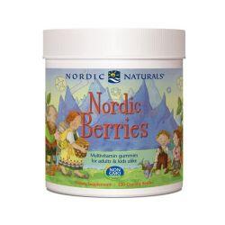NORDIC NATURALS NORDIC BERRIES 120 ŻEL.