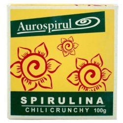 AUROSPIRUL SPIRULINA CHILI CRUNCHY 100G
