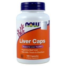 NOW FOODS LIVER CAPS 100K