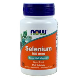 NOW FOODS SELEN 100MCG 100 TABLETEK