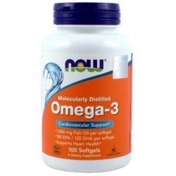NOW FOODS OMEGA-3 1000MG 100 KAPSUŁEK