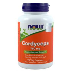 NOW FOODS CORDYCEPS 750MG/90 KAPS.