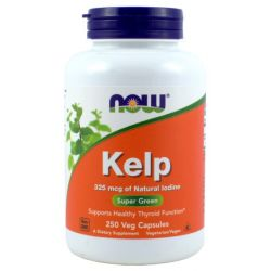 NOW FOODS KELP 1325 MCG 250 KAP