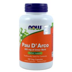 NOW FOODS PAU D ARCO 500MG,100K