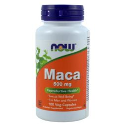 NOW FOODS MACA 500MG 100K