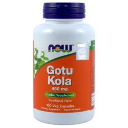 NOW FOODS GOTU KOLA 450MG 100K