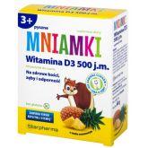 STARPHARMA WITAMINA D3 MNIAMKI DO SSANIA 60 PAS