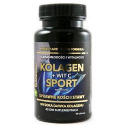 INTENSON KOLAGEN SPORT Z WIT C 90 TABLETEK