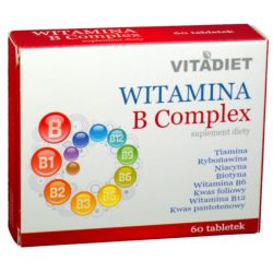 VITADIET WITAMINA B COMPLEX 60 TABL.