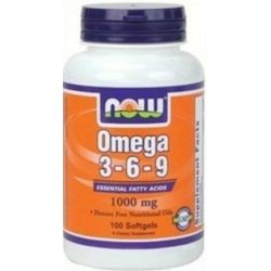 NOW FOODS OMEGA 3-6-9 1000MG 100K