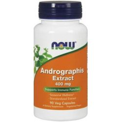 NOW FOODS ANDROGRAPHIS EXTRACT 400MG 90KAP