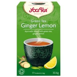 YOGI TEA HERBATA GREEN TEA GINGER LEMON BIO17x1,8G
