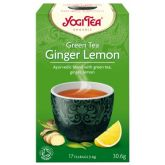 YOGI TEA HERBATA GREEN TEA GINGER LEMON BIO17x1,8G