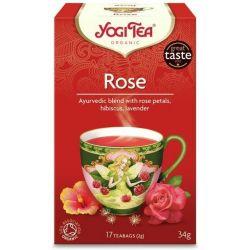 YOGI TEA HERBATA ROSE BIO 17x2G