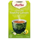 YOGI TEA HERBATA GREEN TEA MATCHA LEMON 17x1,8G