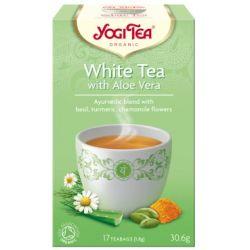 YOGI TEA HERBATA WHITE TEA WITH ALOE BIO 17x1,8G