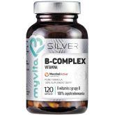 MYVITA SILVER WITAMINA B-COMPLEX 100% 120 KAPS.