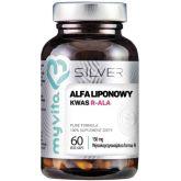 MYVITA SILVER 100% KWAS ALFALIPONOWY R-ALA 60 KAPS