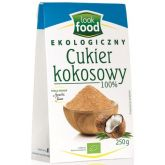 LOOK FOOD CUKIER KOKOSOWY EKO 250G