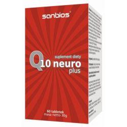 Sanbios Q10 Neuro plus 60 tab. insulinooporność