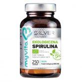 Myvita Silver Spirulina 100% Bio 250 proszek